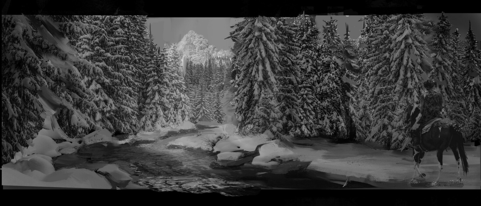 Matte Painting Sketch