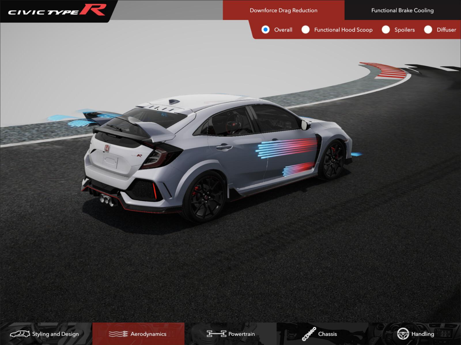 Honda Civic Type R Training App