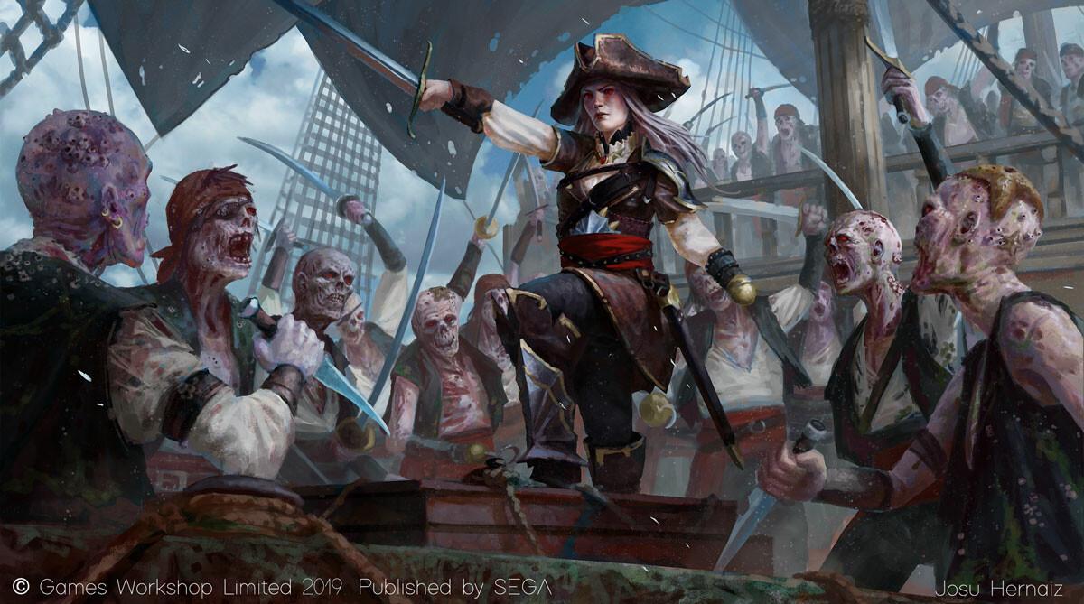 Josu hernaiz sea pirate