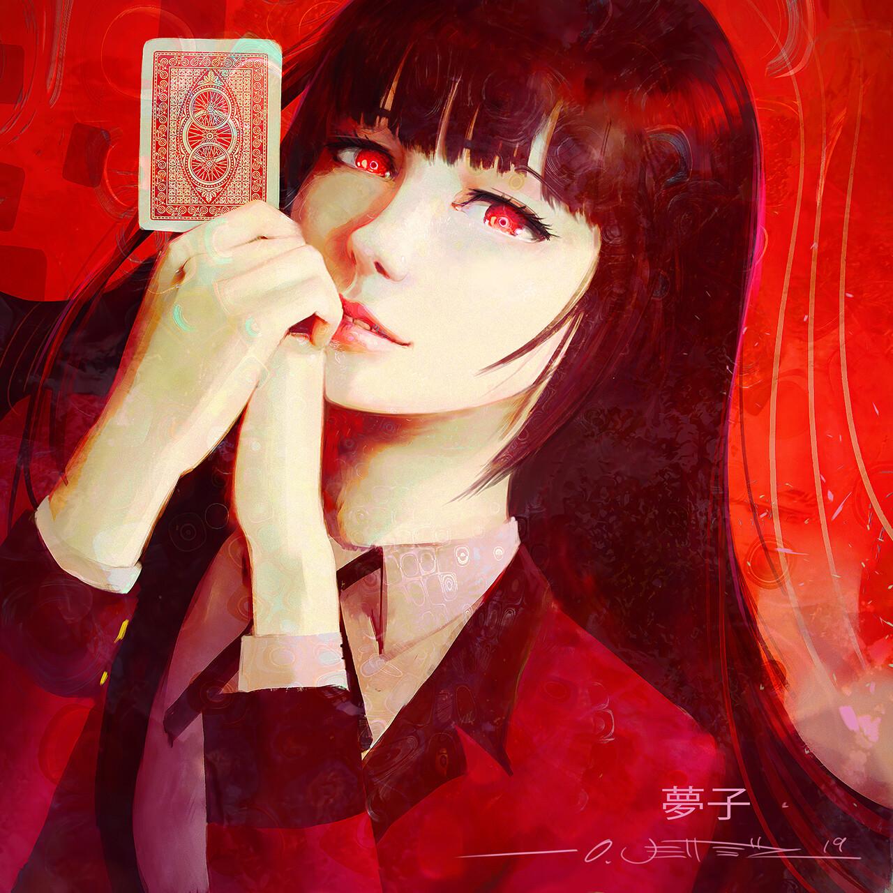 Yumeko Portrait Study