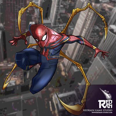 Redrain game studio spiderman