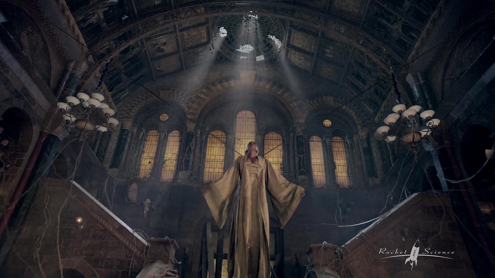 Into the Badlands Season 3 - Full Fortress Interior surfacing