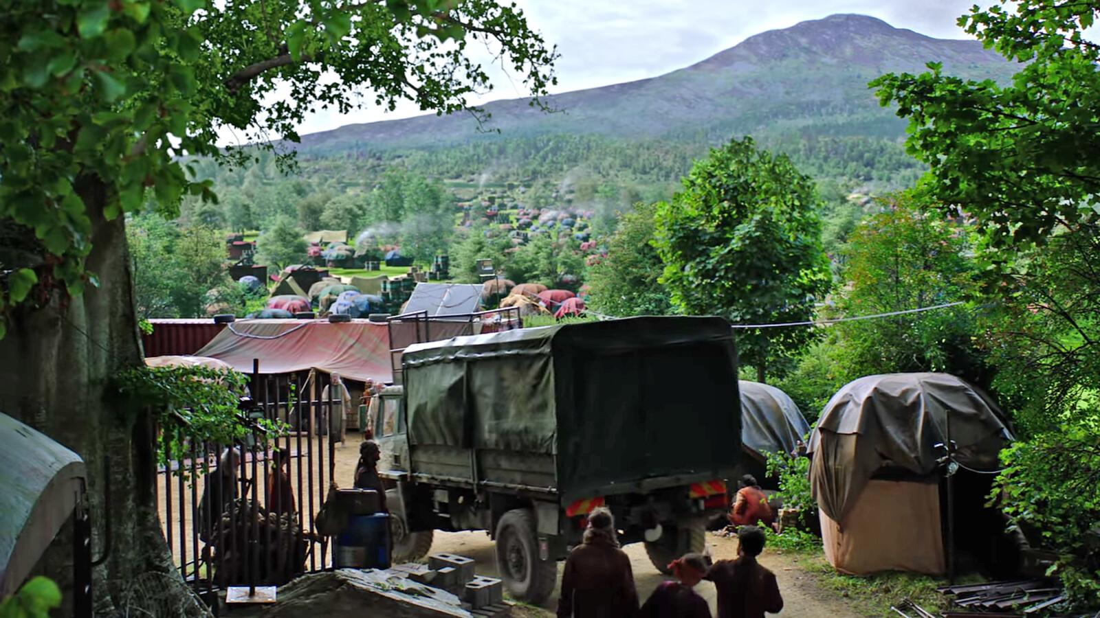 Into the Badlands Season 3 - Tents