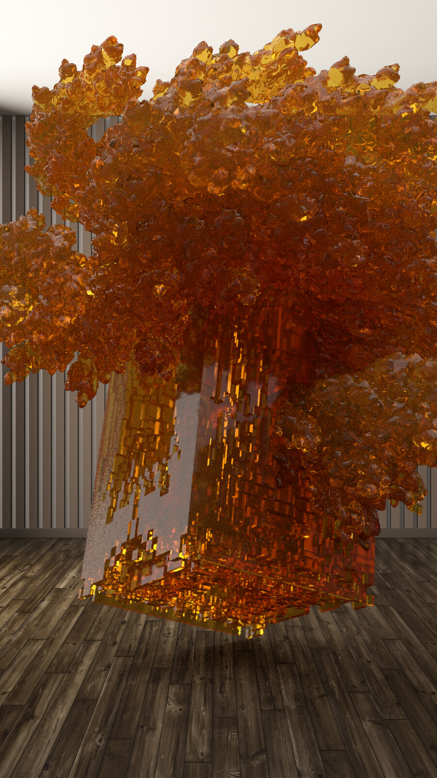 explosion (procedural sculpture)