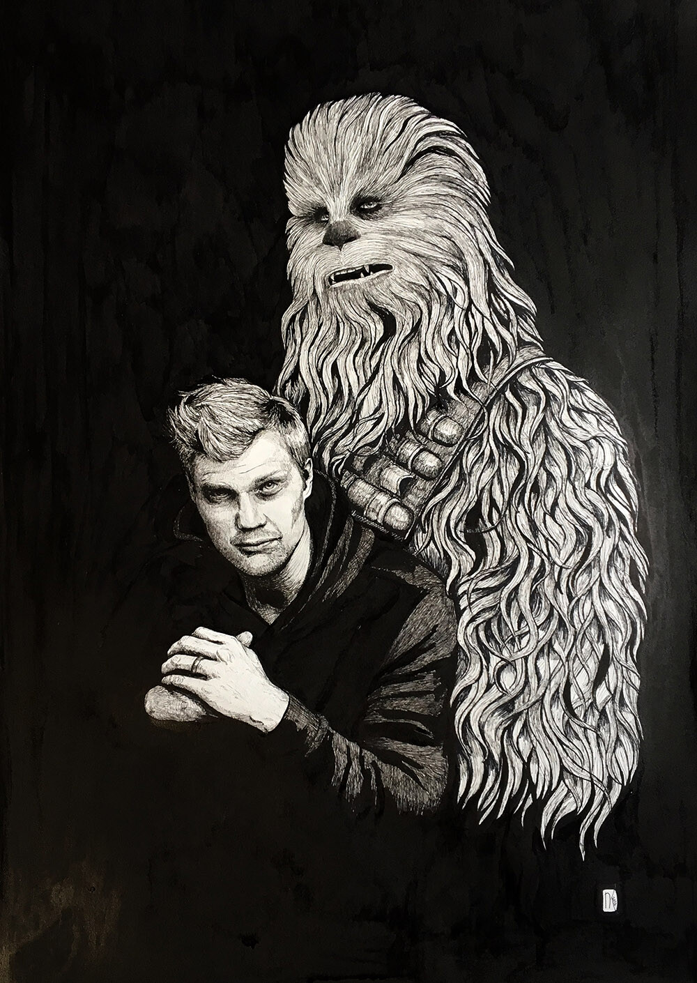 Joonas and Chewie
