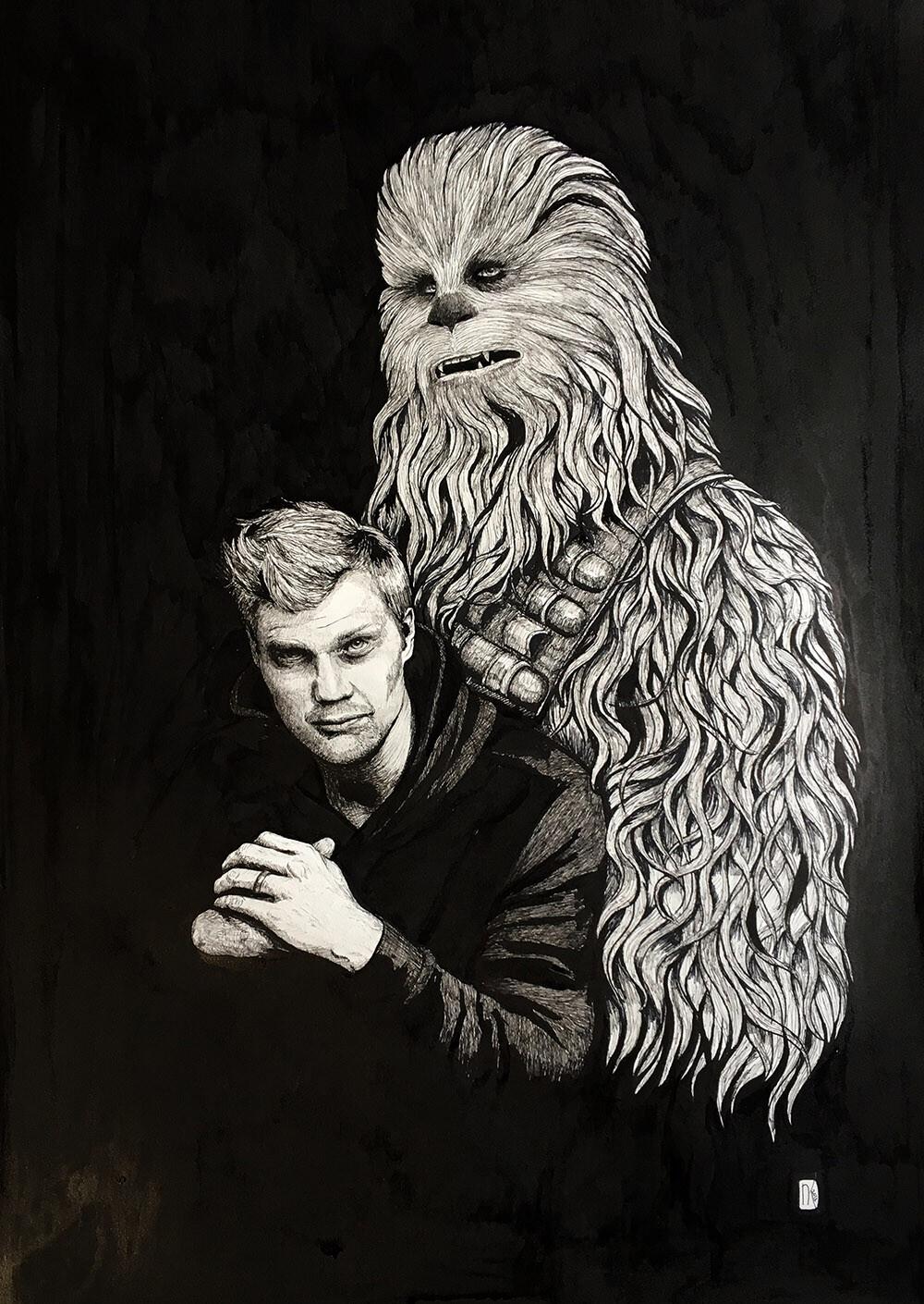 Joonas and Chewie