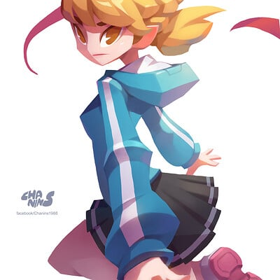 Chanin suasungnern character girl04