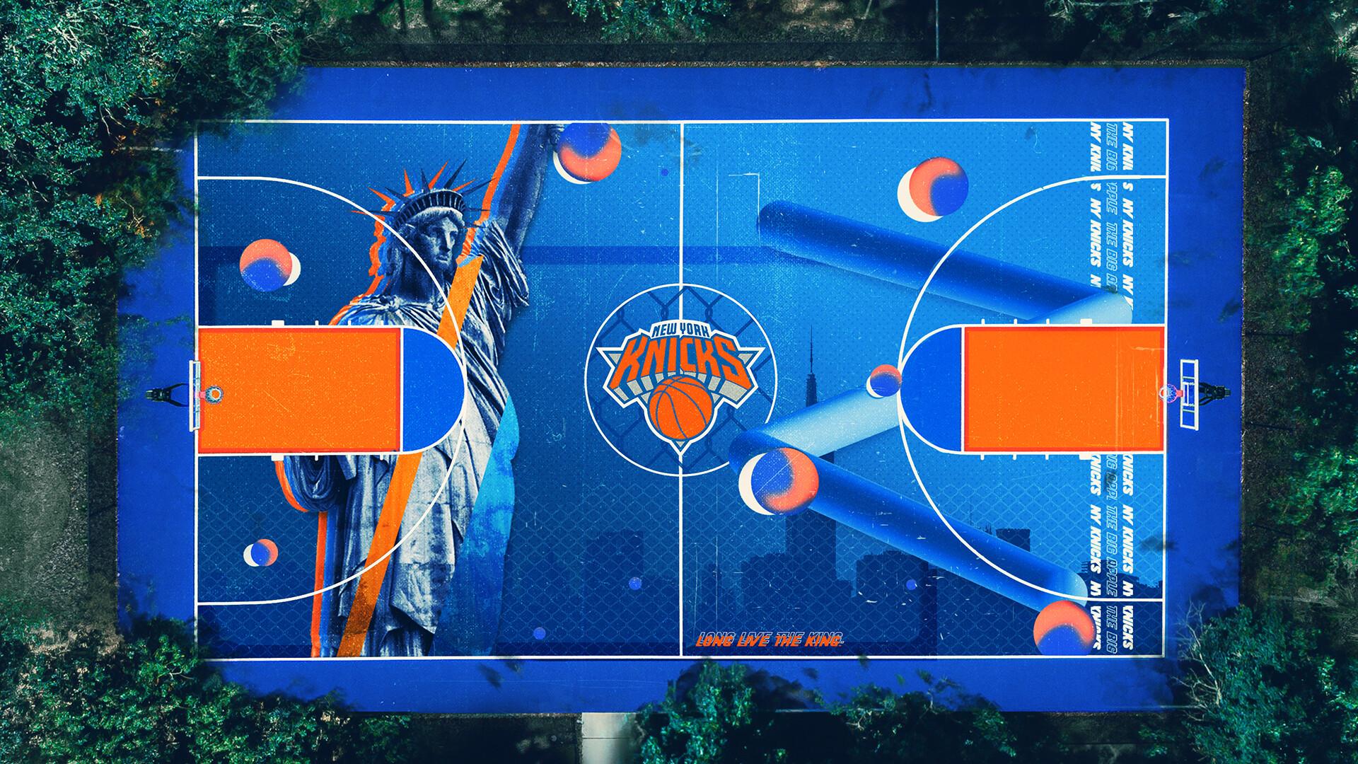 Artstation New York Knicks Basketball Court Terry Soleilhac