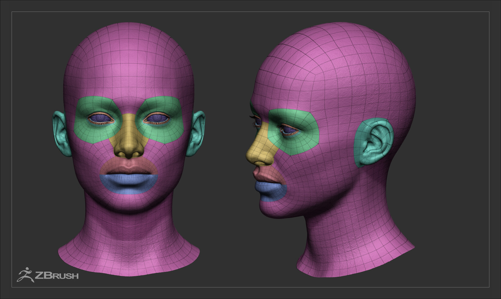 Alex lashko femalehex ana zbrush previews 06