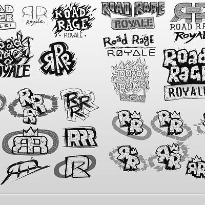 Road Rage Royale - Logo