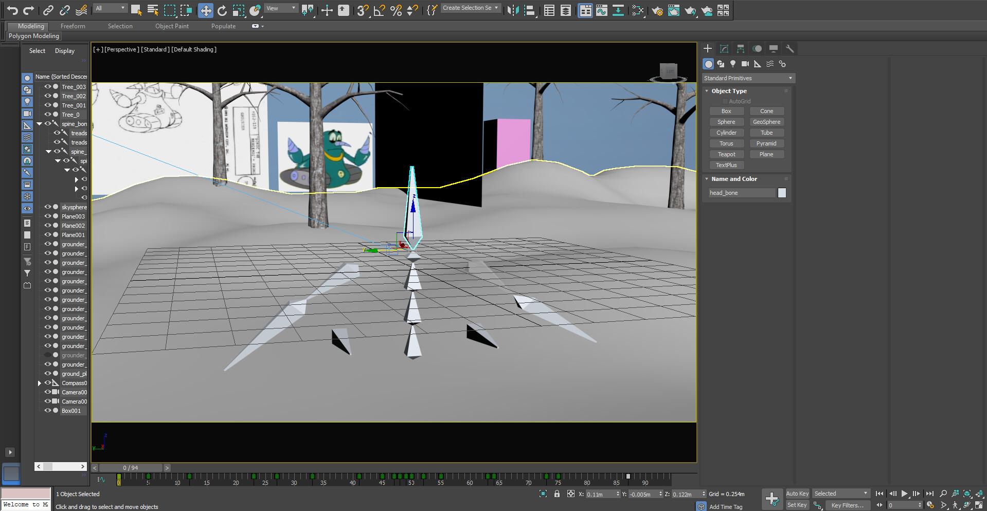 Grounder Skeleton in 3DSMax