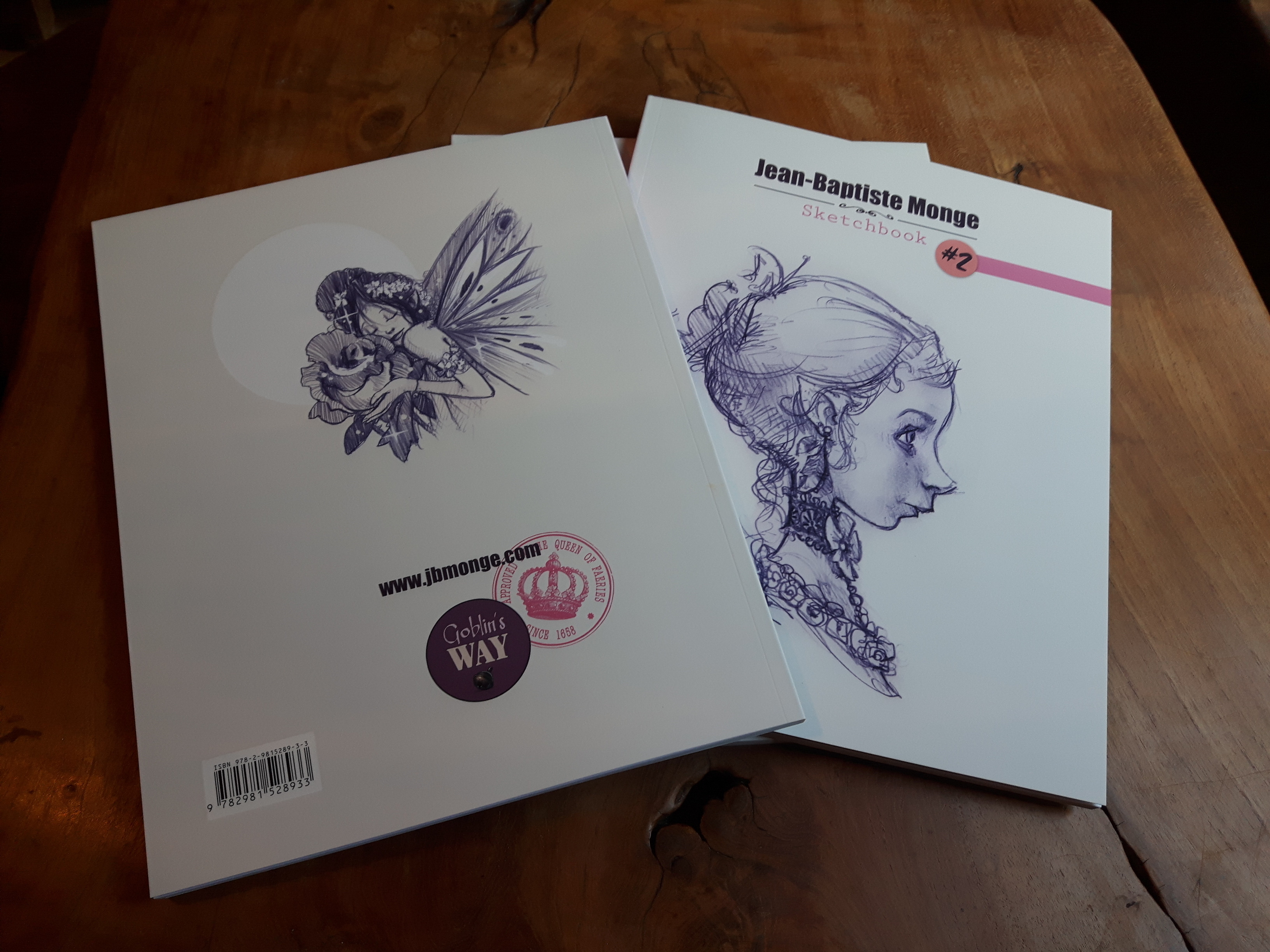 The cover - back and front