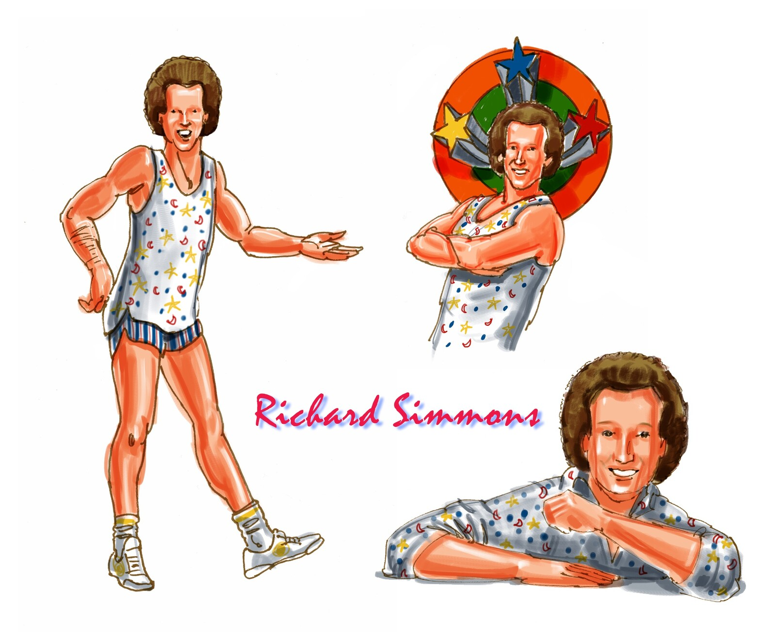 Richard Simmons exercise DVD's