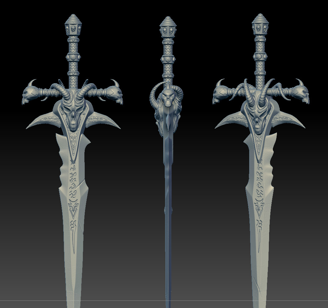 Frostmourne, Lich King Sword