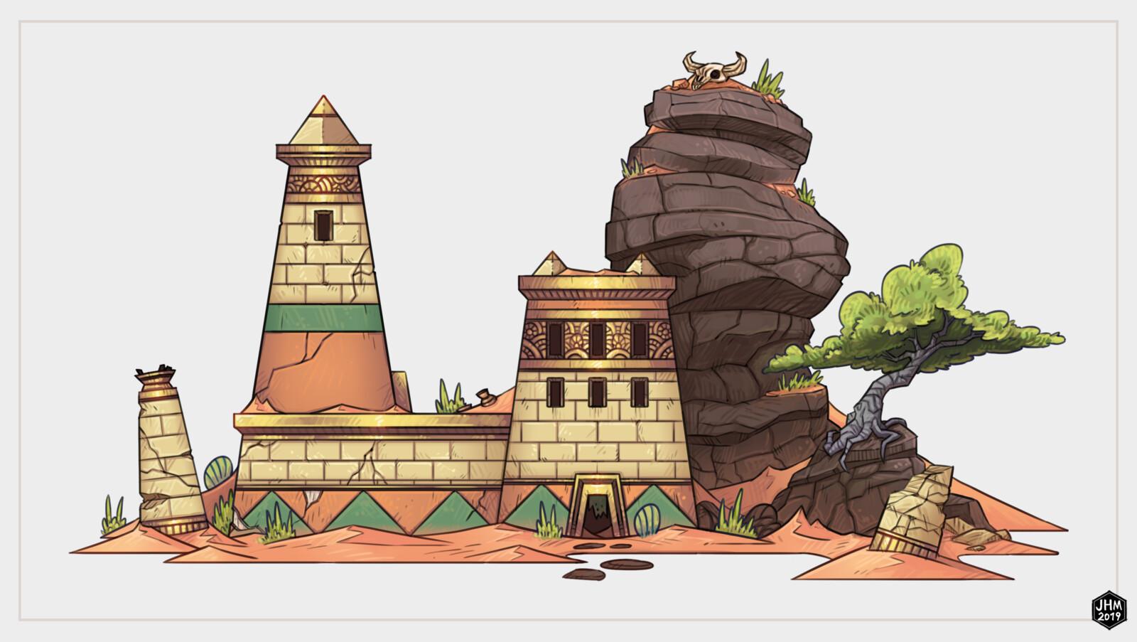 Burri Ruins