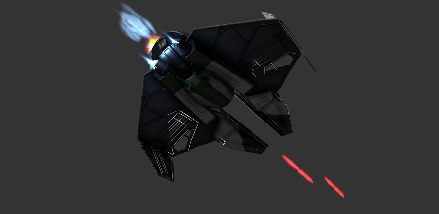 Artstation Starwars Yoda S Eta 2 Actis Class Interceptor Ewan Tennent