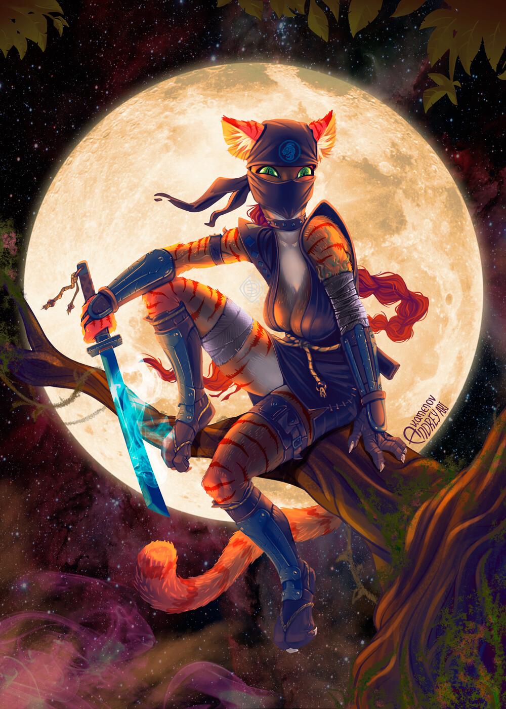 Andrey kamenov cat ninja 06