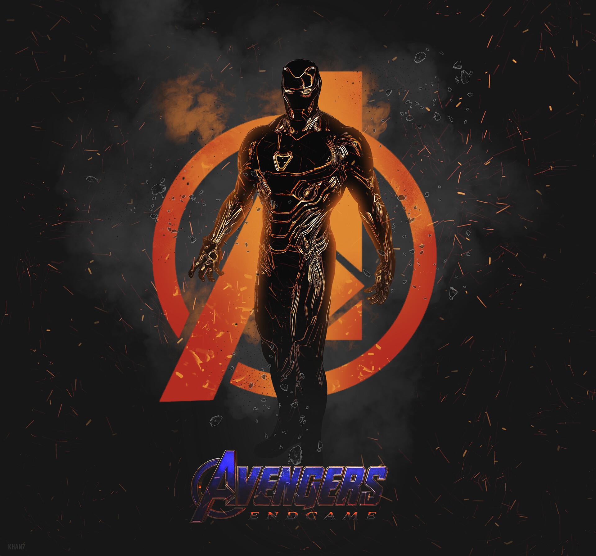 ArtStation - Avengers Endgame - Iron Man Character Poster