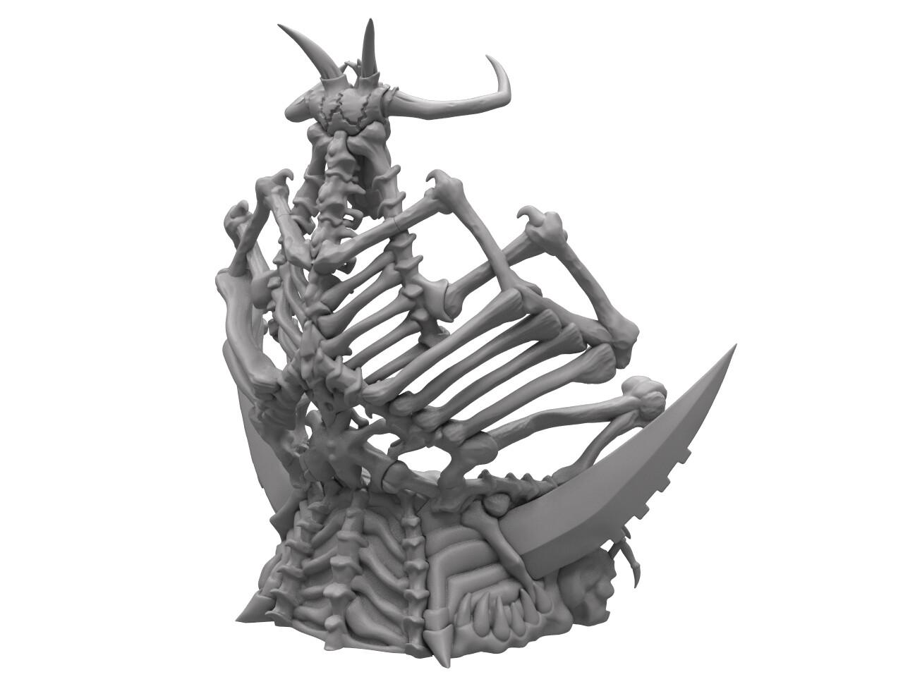 Ben misenar skeletor throne rb 2