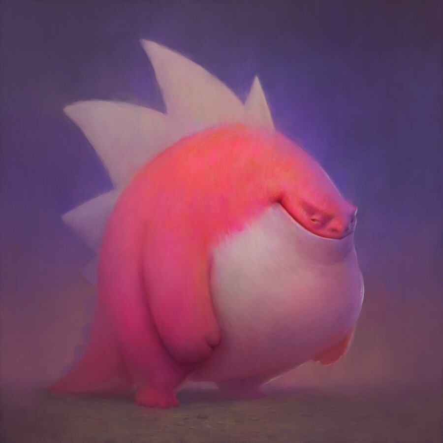 Pinkish guy