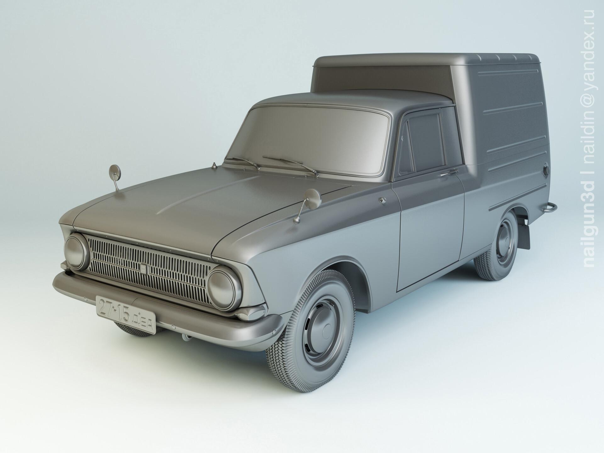 Nail khusnutdinov als 252 000 izh 2715 modelling 0