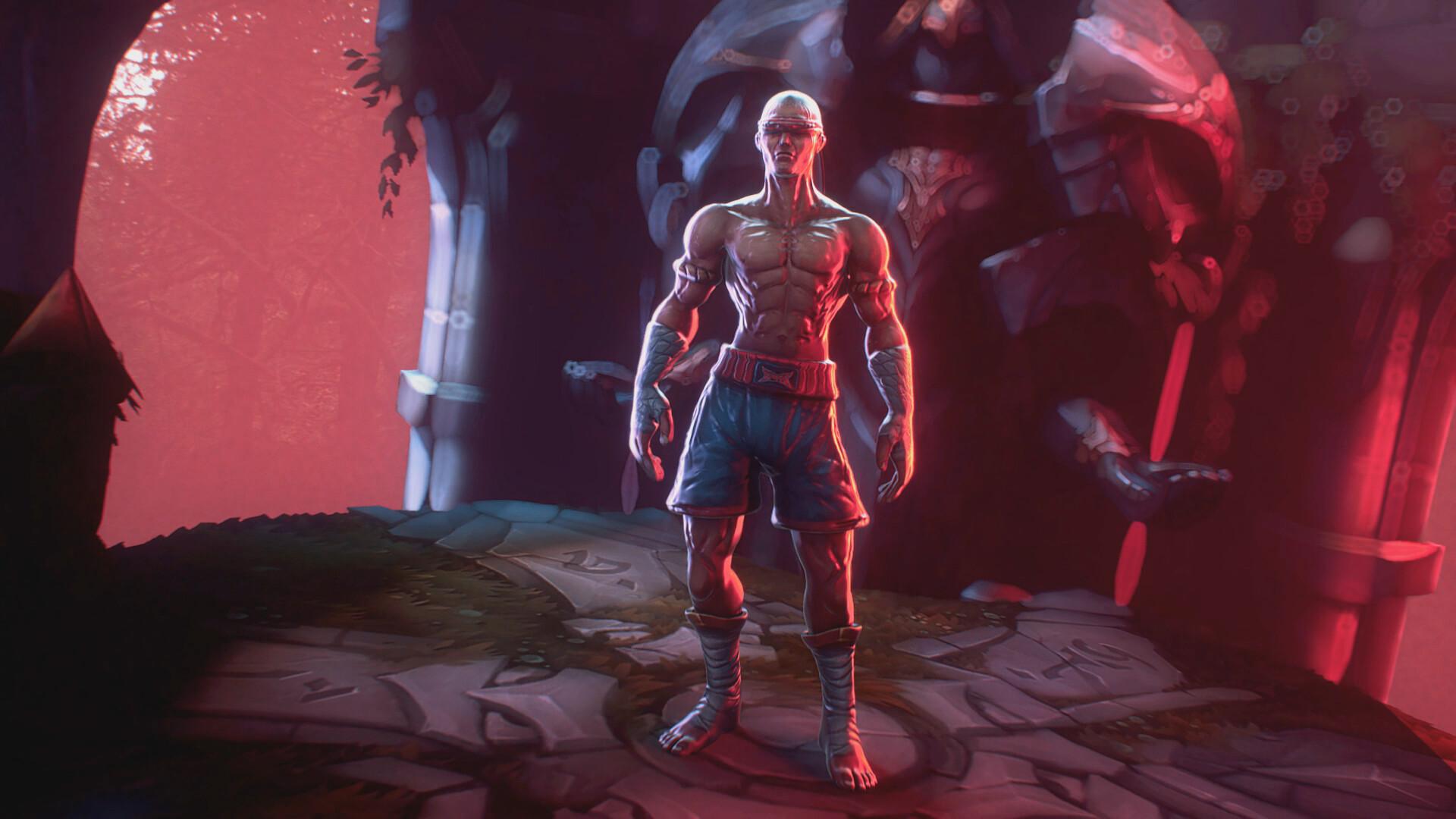 Brahim Touhami Lee Sin League Of Legends Octane Render