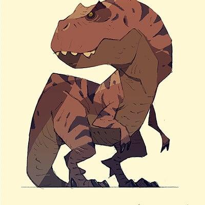 Satoshi matsuura 2019 06 28 tyrannosaurus s