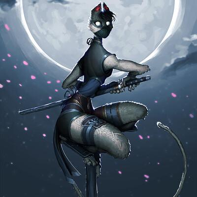 Ninja Cat - Character Design Challenge