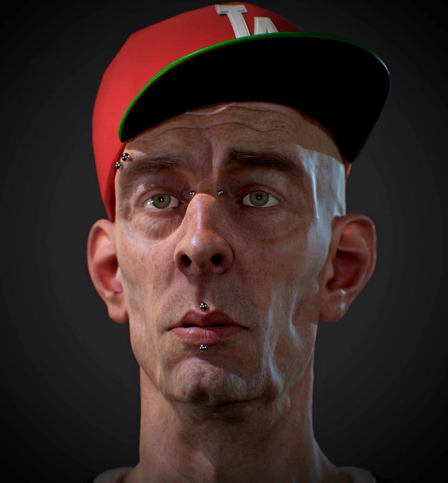 LA Dodger Fan - Marmoset Toolbag 3 renders