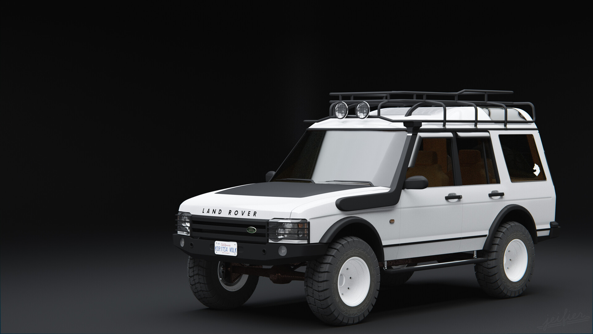 Jeifier Park Land Rover Discovery 2