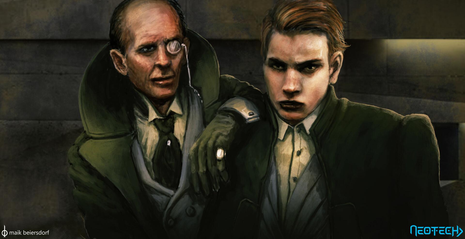 Lord Goodwin and Konrad van Meyer