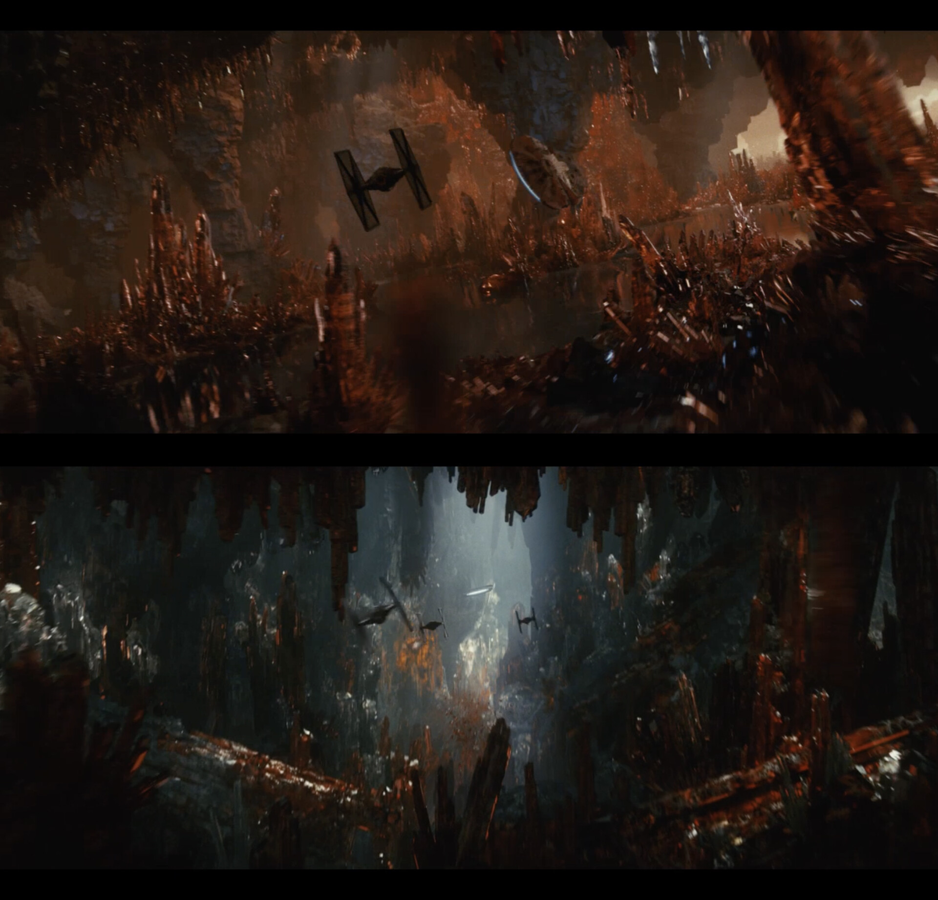 Final movie frames