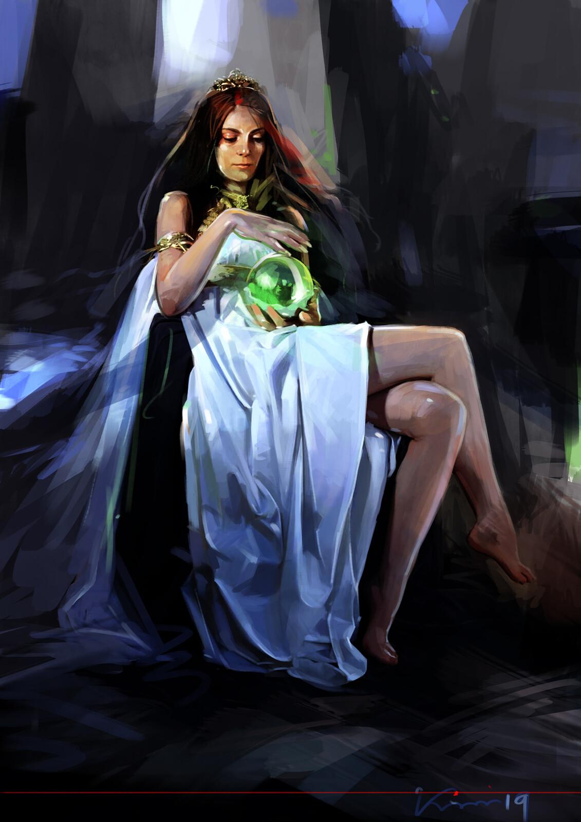 Rani , a royal witch .