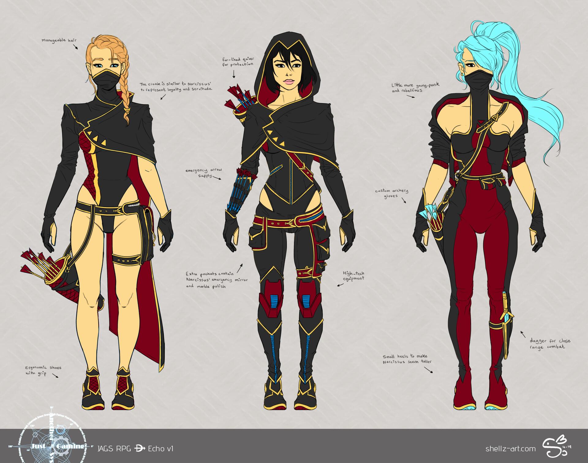 Shellz art concepts echo v1