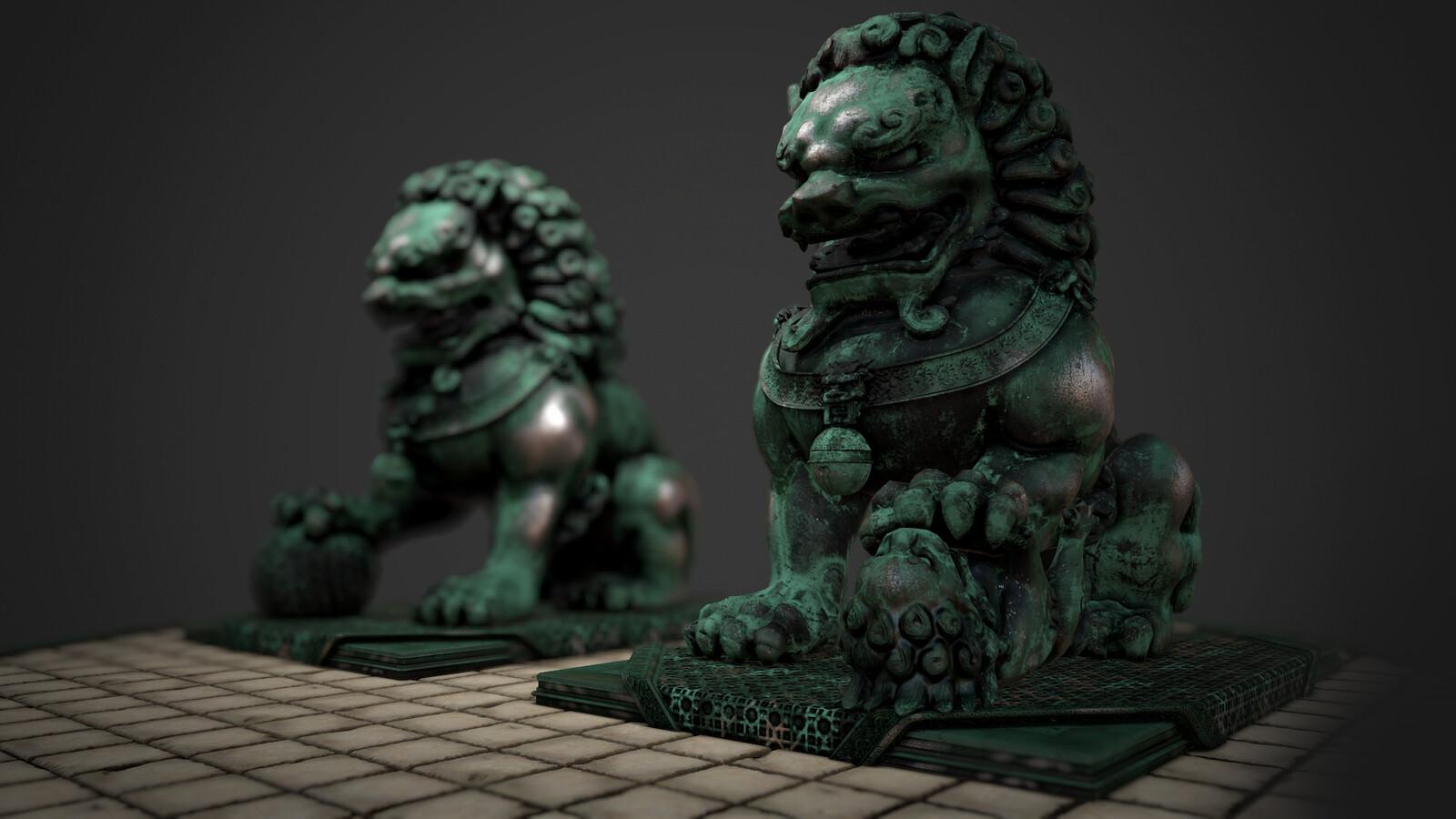 Chinese Fu Guardians