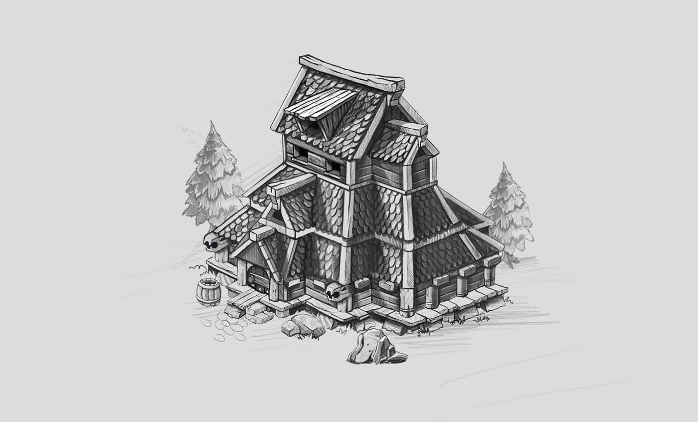 Nemanja abazovic besni fok building behance 07