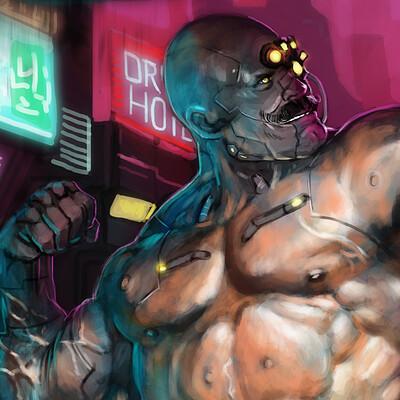 Frost llamzon cyberpunk 6