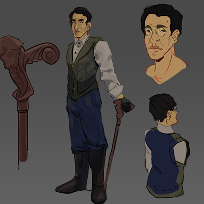 Lionel Song Character Design
