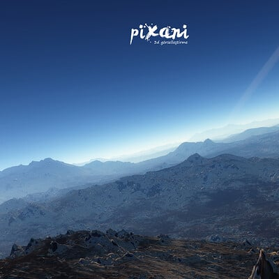Serdar cakmak pixani environment renders 01