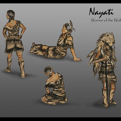 Magalie bergeron nayati warrior of the wolf nations