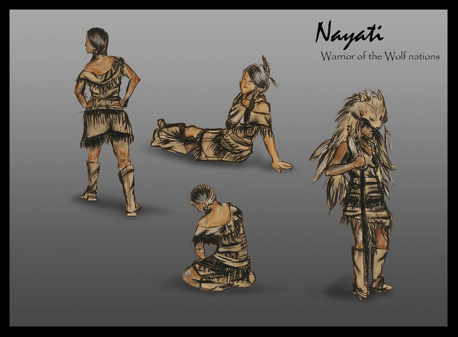 Nayati - Warrior of the Wolf nations