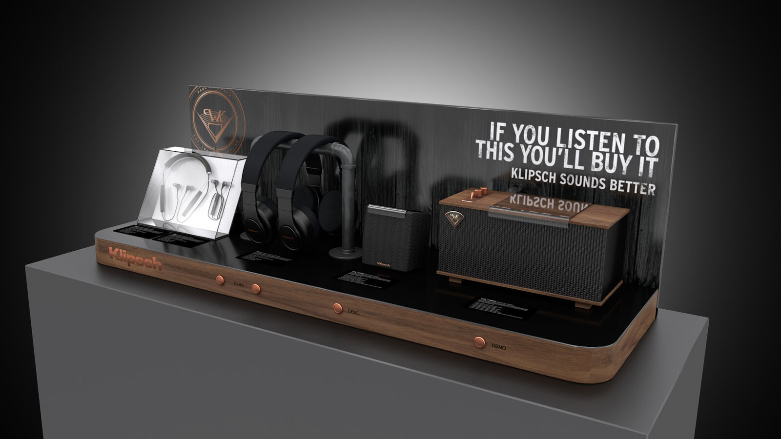 Klipsch Retail Display