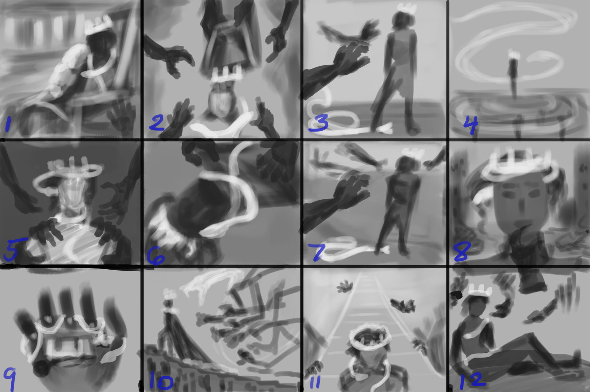The Hunted - Thumbnails
