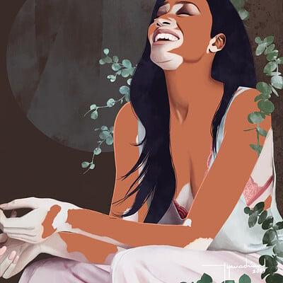 Rye adriano winnie harlow portrait