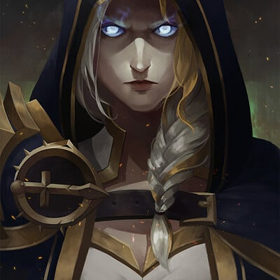 Josephine chang warbringersjaina redopreview