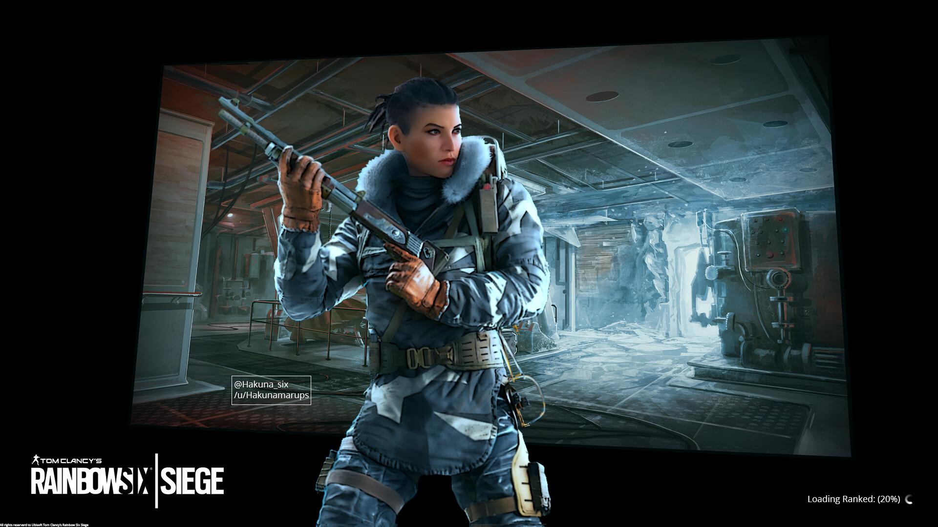 Artstation Gta Six Siege Loading Screens Frost Elite