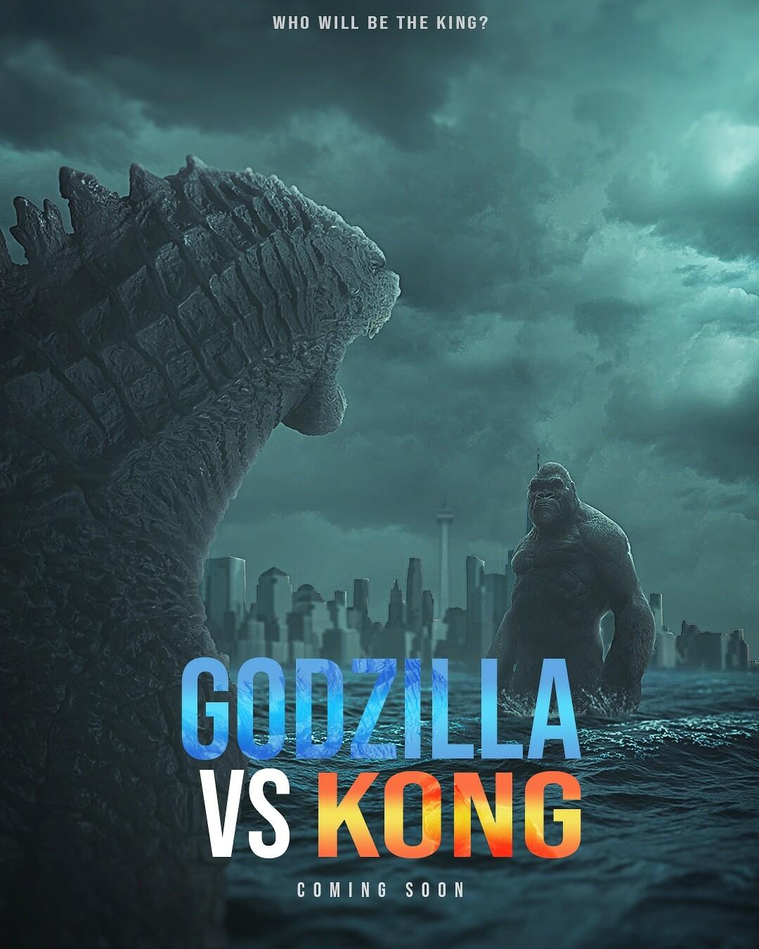 Zidane Ikhwan - Godzilla vs kong poster