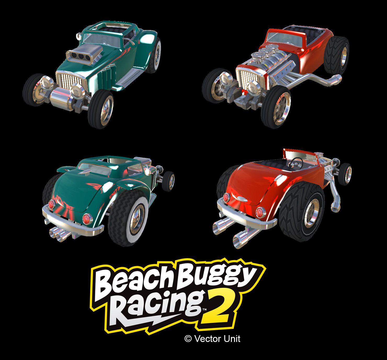 Beach Buggy Racing 2 Vehicles: Hotrod Configurations