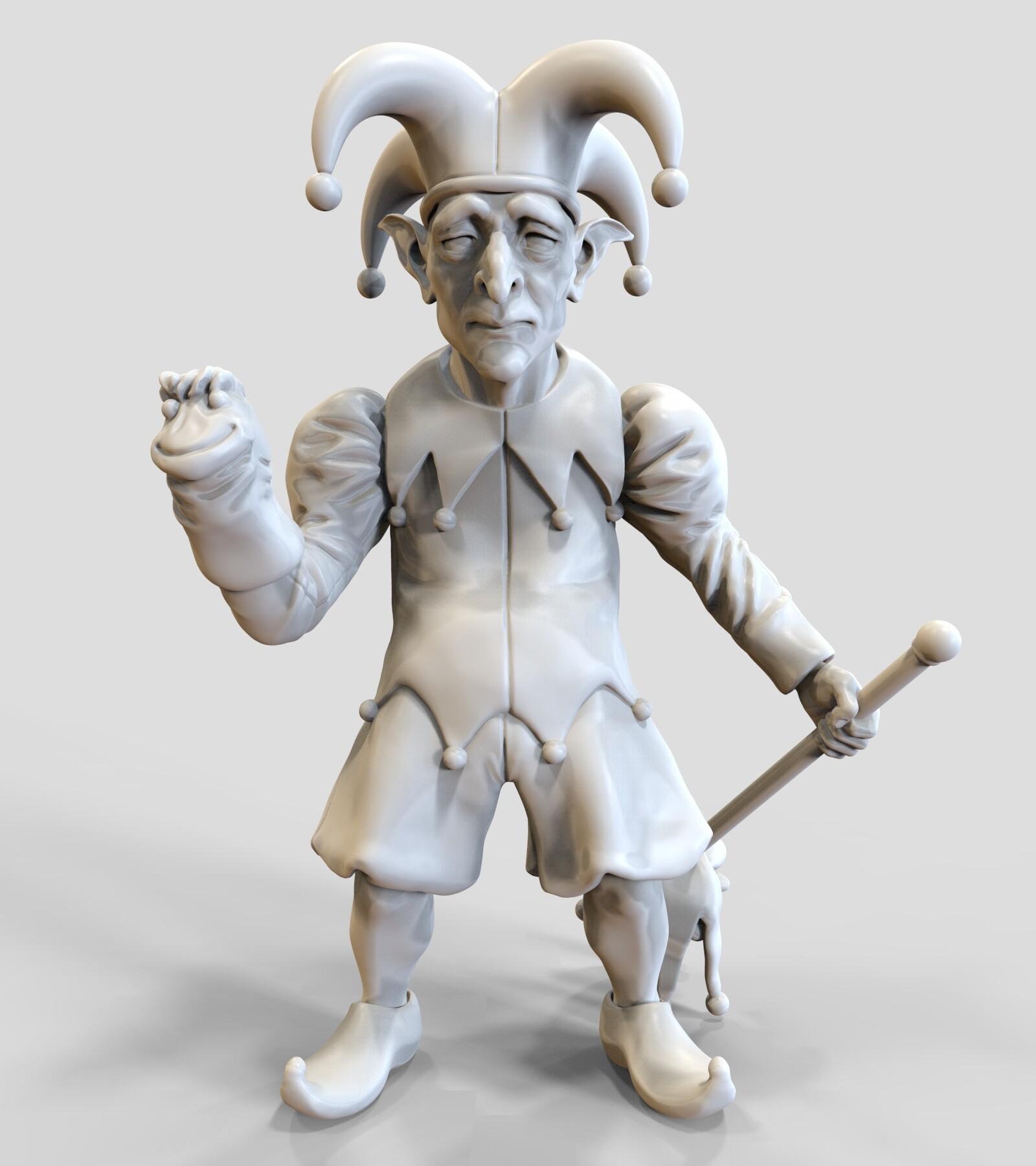 Andre de souza goblin jester 1