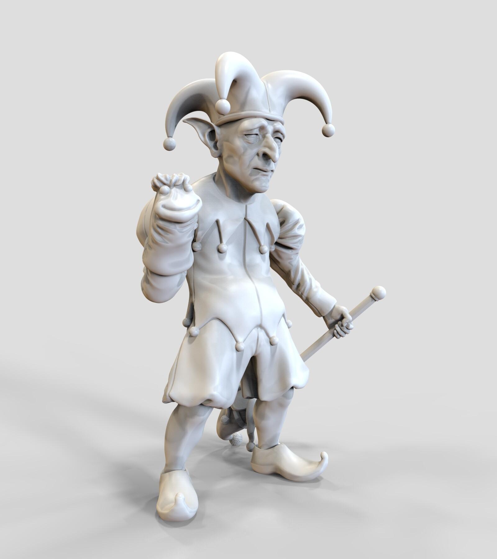 Andre de souza goblin jester 9
